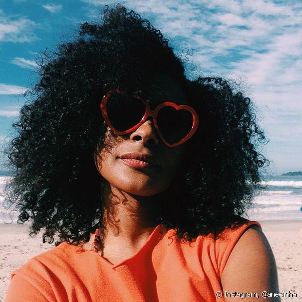 Ana afirma que a sua relação com seu cabelo é muito mais que uma opção estética, é uma conexão com a ancestralidade
