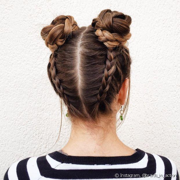 Fabuloso Coque com trança na nuca: passo a passo de como fazer o penteado BF55