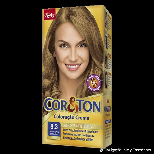 8.3 Louro Claro Dourado de Cor&Ton