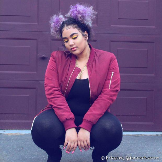 Qualquer cor fantasia dura mais no seu cabelo se você dimiuir a frequência das lavagens