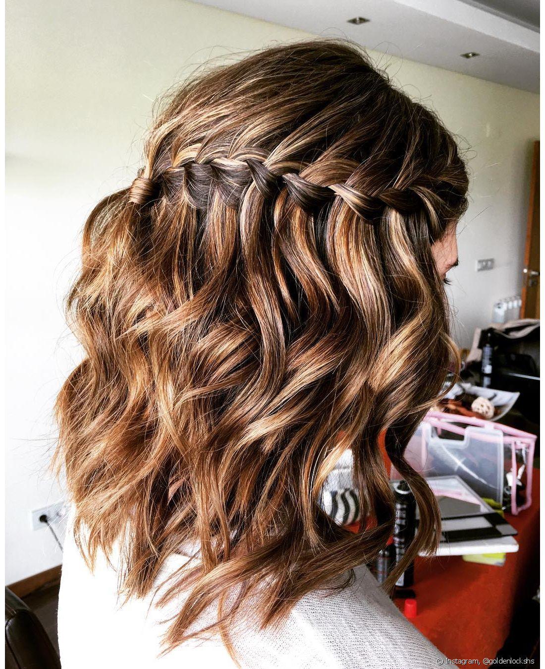 Os penteados feitos nos fios soltos são uma boa pedida para o dia a dia