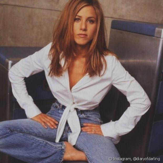 """Durante toda a duração do seriado """"Friends"""", o cabelo de Jennifer Aniston chamou atenção"""