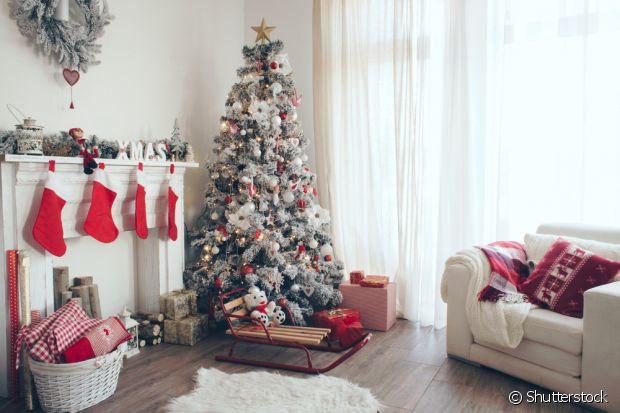 As meias natalinas representam prosperidade, riqueza e boa sorte