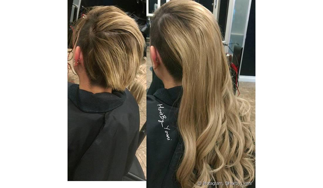 Os anéis podem ser usados em até cinco tamanhos: o maiores para cabelos grossos, os medianos e os menores para cabelos finos e também na franja