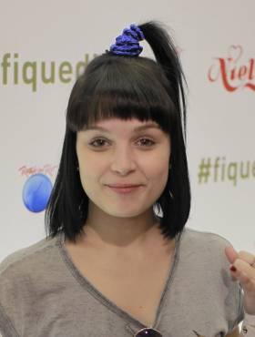 Galera radical! Veja os penteados de quem passou pelo stand Fique Diva no 1° dia do metal no Rock in Rio