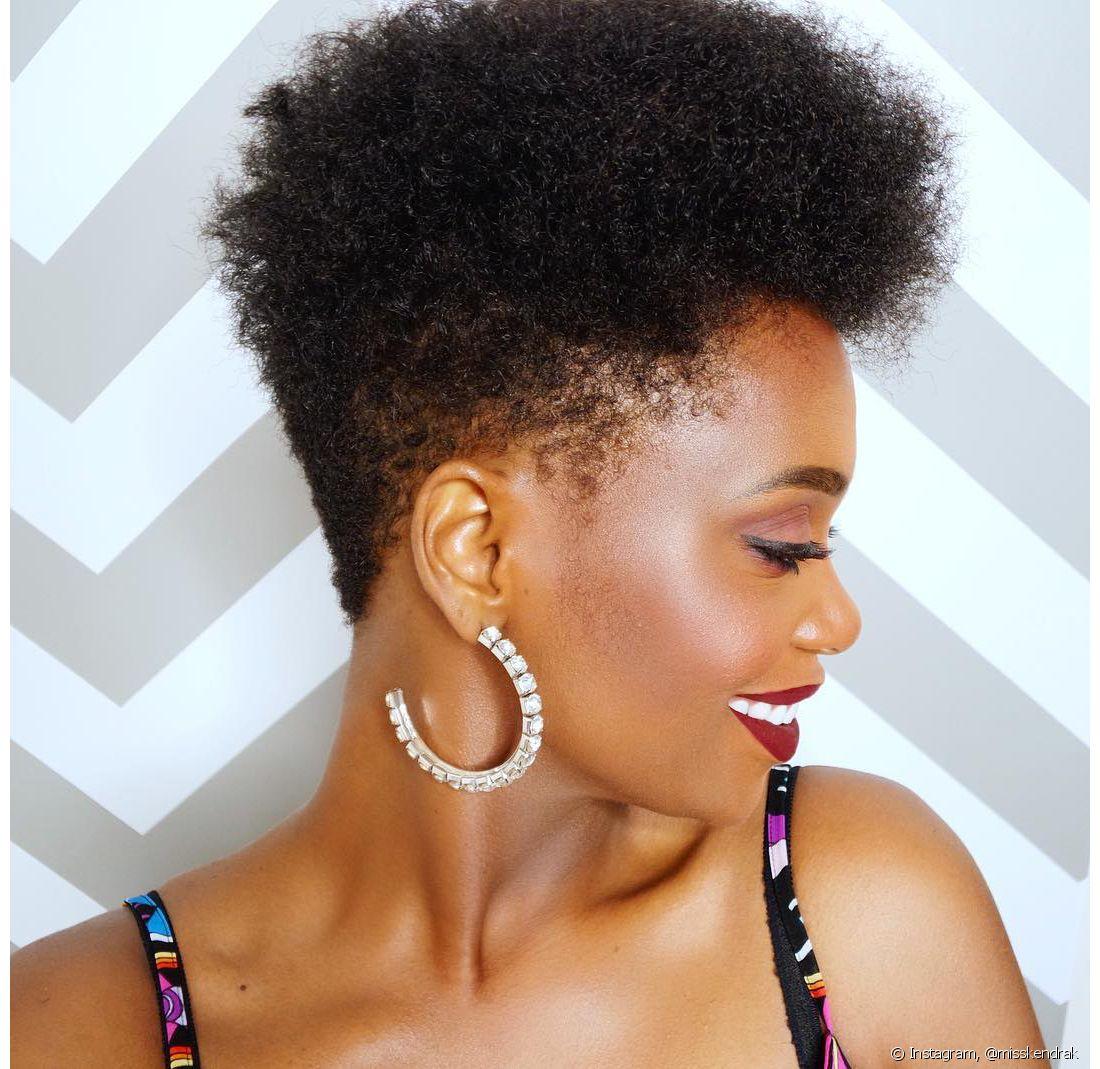 Tapered Hair O Corte De Cabelo Curto Para Crespos E