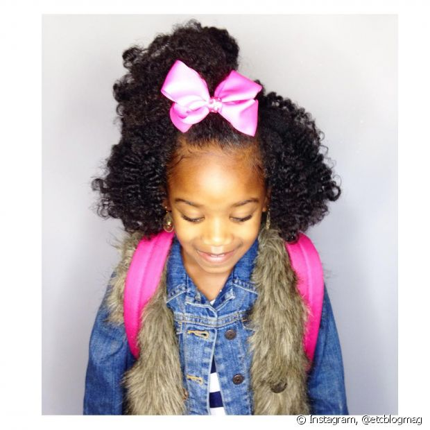Preferência Dia das Crianças: inspire-se em 50 fotos de penteados para as  PM31