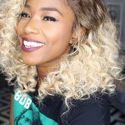 Negra com cabelo loiro: saiba como investir na cor + 10 fotos para inspirar!