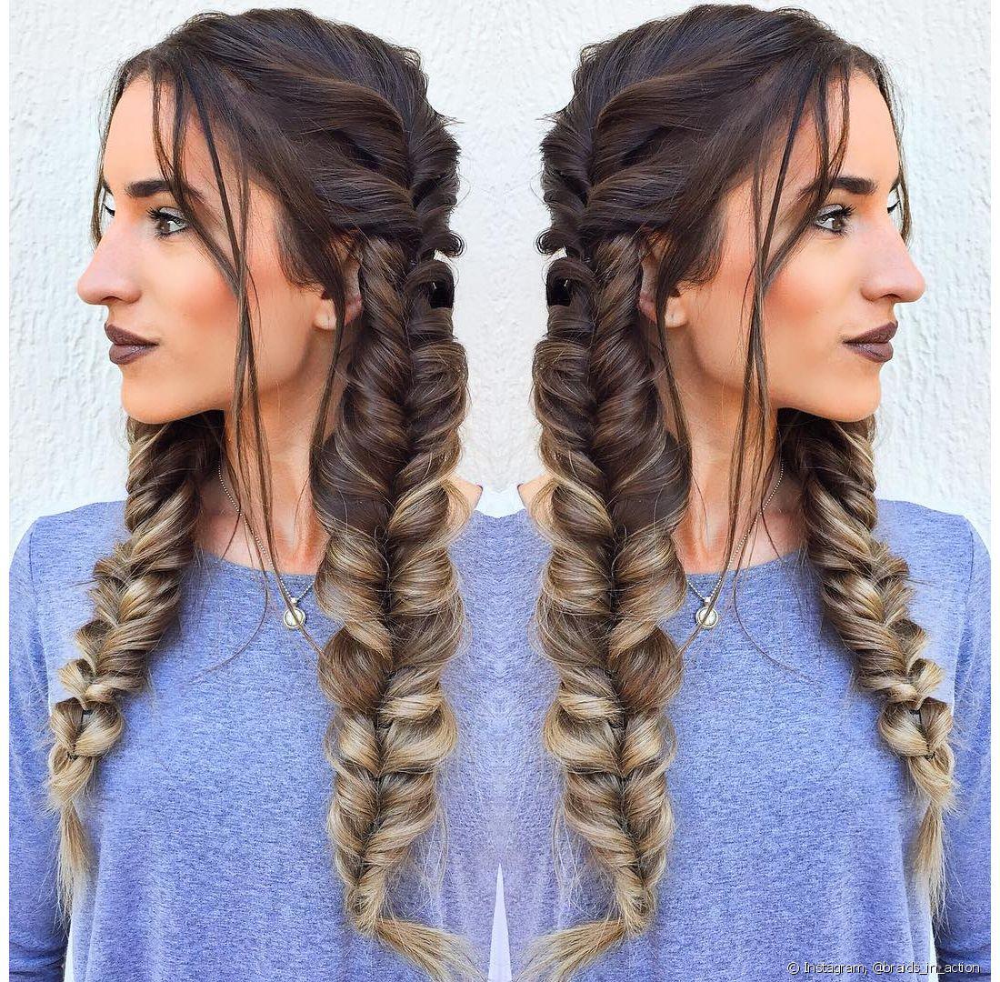 A trança é o tipo de penteado que nunca sai de moda e sempre ganha uma nova versão. Para 2017, a trança boxeadora dá lugar a um estilo mais solto e mais sofisticado