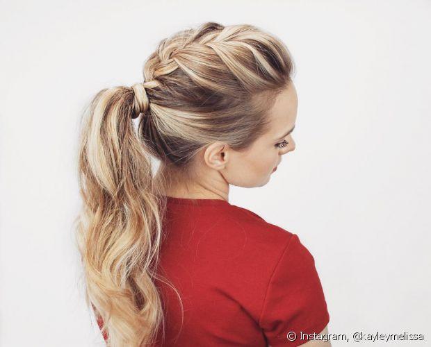 Complete seu penteado com trança e deixe-o ainda mais descolado e charmoso