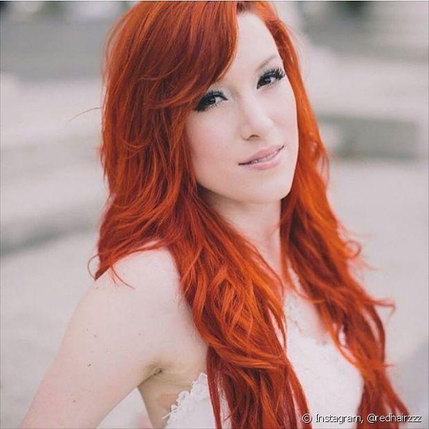 cabeelos ruivos longos
