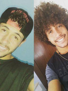 Antes de assumir os cachos, Rodrigo Oliveira usava boné para esconder seu cabelo: 'Um constrangimento horrível'
