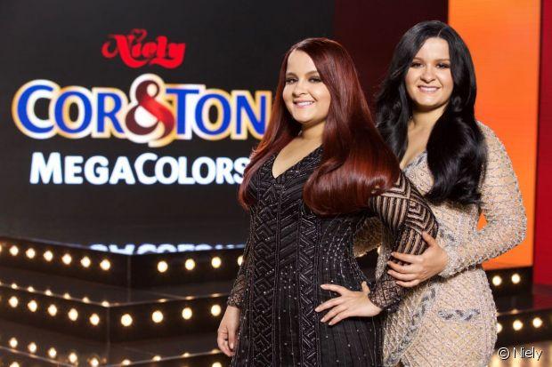 A dupla sertaneja Maiara e Maraisa ficou mais diva com as novas cores de cabelo. A transformação foi feita com Mega Colors, a nova coleção de Cor&Ton