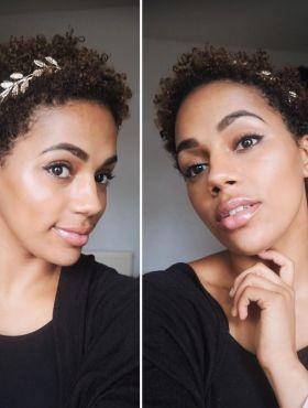 Como usar tiara no cabelo cacheado? Inspirações do acessório para fios com cachos