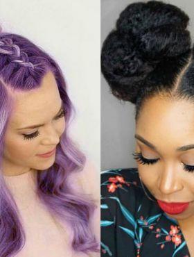 Half bun x coque duplo: qual penteado você prefere?