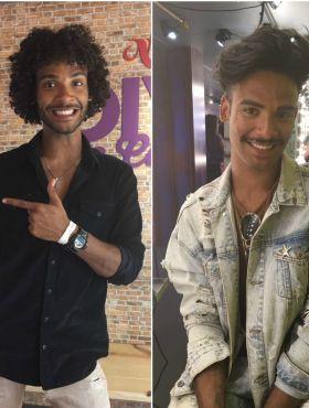 Um cacheado e outro liso, os gêmeos Thiago e Matheus adoram cuidar do visual e não ligam para rótulos: 'O melhor é ser quem a gente quiser!'