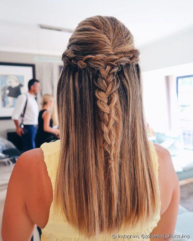 Use sua criatividade na hora de escolher seu penteado de madrinha para o grande dia
