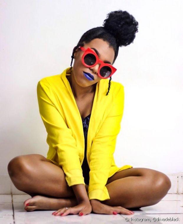 A afirmação de ser negra e ter orgulho de suas características foi diferencial em na vida de Luany Cristina