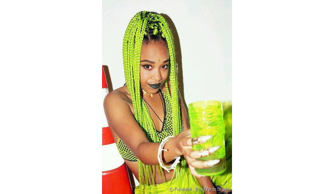 Box Braids Com Linha De Croche : Box braids coloridas: confira mais de 70 fotos de meninas que ...