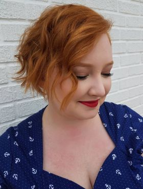 Sou gordinha, posso usar cabelo curto? Veja 10 fotos de mulheres lindas para provar que sim!