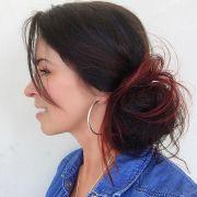 Coque lateral despojado: passo a passo de como fazer o penteado preso em casa