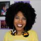 A blogueira Luany Cristina, do blog Diva de Black, ensinou três penteados para as cacheadas arrasarem no verão