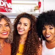 Bruna Ramos, Luany Cristina e Camilla Santana respondem perguntas das leitoras sobre cabelos cacheados. Assista ao vídeo!