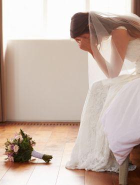 6 medos mais comuns das noivas antes do casamento