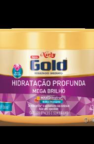 Hidratação Profunda Niely Gold Mega Brilho 430g