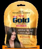 Creme de Tratamento Niely Gold Hidratação Chocolate 30g