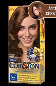 Chocolate 6.7 Cor&Ton Coloração Creme