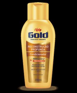 Condicionador Cuidado Diário Niely Gold Reconstrução Profunda 200ml