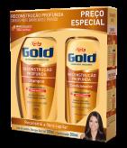 Kit Especial Niely Gold Reconstrução Profunda Shampoo 300ml + Condicionador 200ml