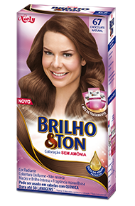 Chocolate Natural 6.7 Brilho&Ton Coloração Sem Amônia