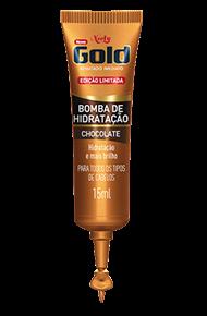 Bomba de Hidratação Chocolate Niely Gold 15ml