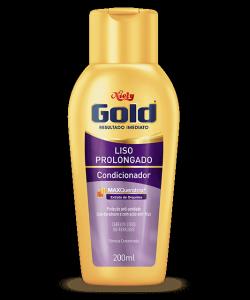 Condicionador Cuidado Diário Niely Gold Liso Prolongado 200ml