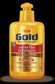 Creme para Pentear Niely Gold Queratina Reparação 200ml