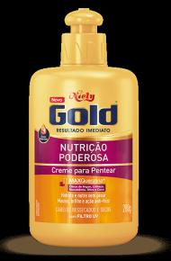 Creme para Pentear Niely Gold Nutrição Poderosa 430g