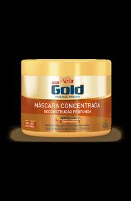 Máscara Concentrada Niely Gold Reconstrução Profunda 430g