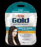 Creme Tratamento de Choque Niely Gold Óleo de Argan 30g