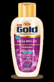 Shampoo Sem Sal Mega Brilho 300ml