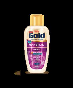 Shampoo Sem Sal Niely Gold Mega Brilho 300ml