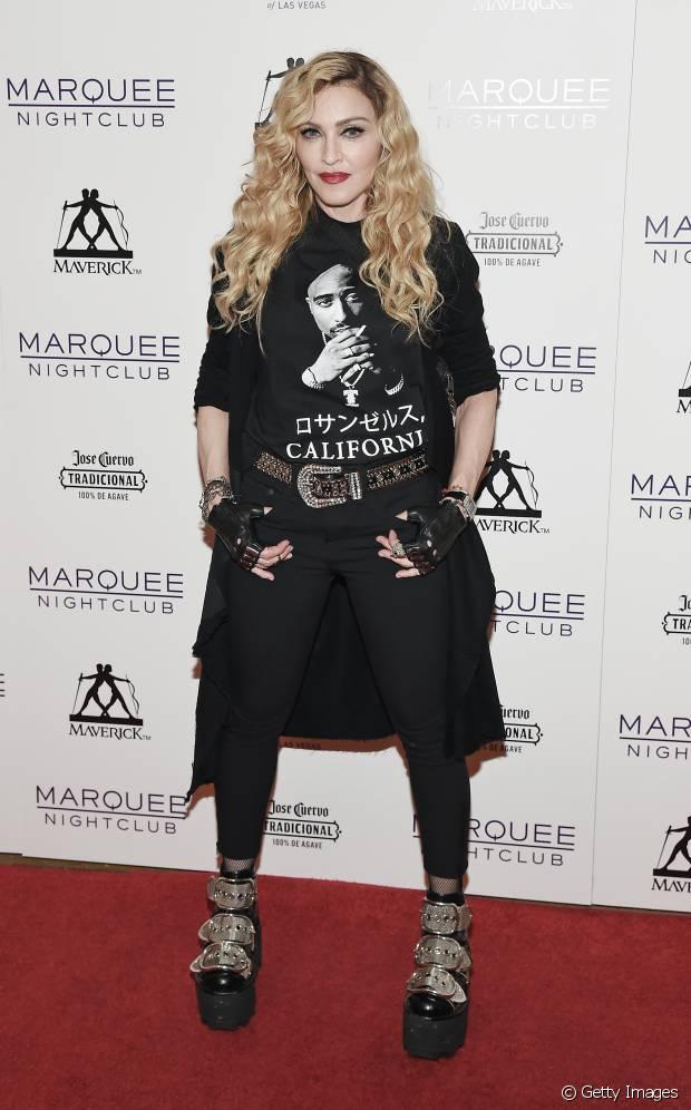 Madonna é uma das loiras poderosíssimas do pop!