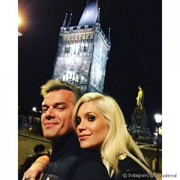 Tem como não amar o casal Otaviano Costa e Flávia Alessandra?