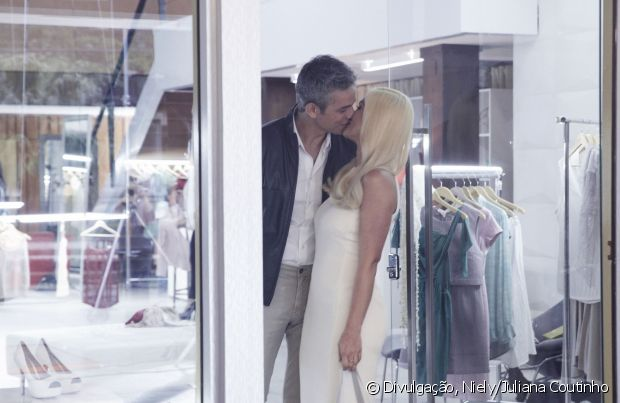 O casal com uma alegria contagiante é só amor!