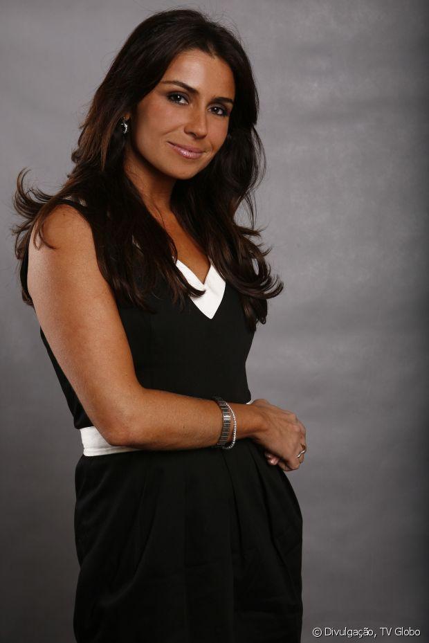 Giovanna Antonelli é fã de cabelos longos