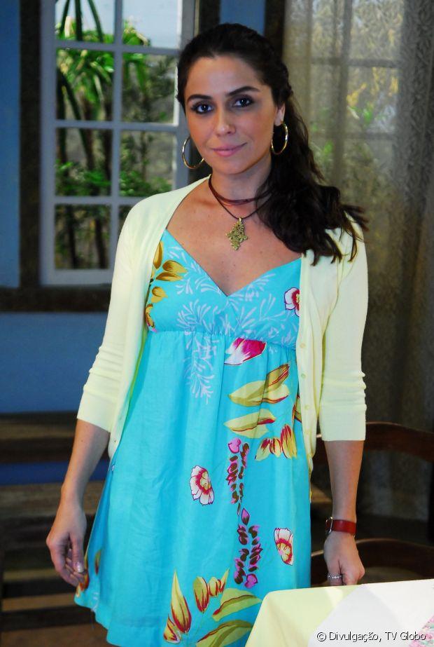Giovanna Antonelli interpretou Dora em 'Viver a Vida' (2009) e exibiu cabelos pretos