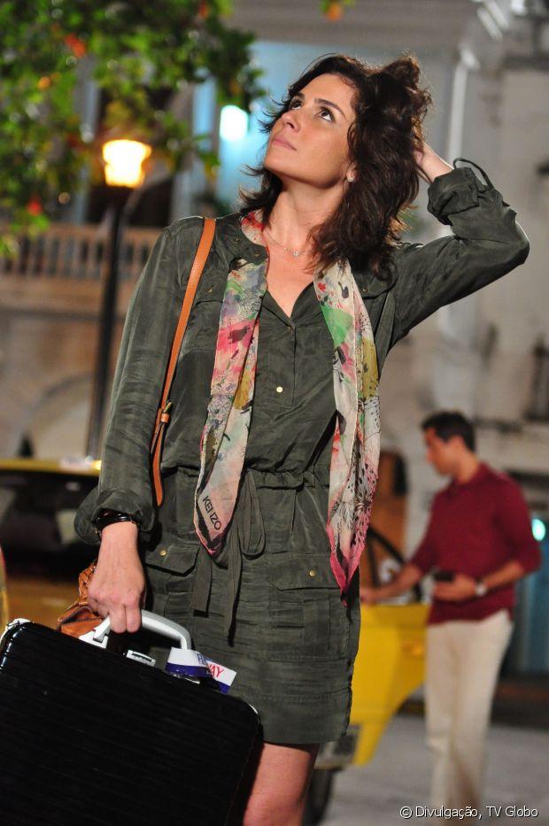 Giovanna Antonelli sempre muda seu visual em nome de suas personagens