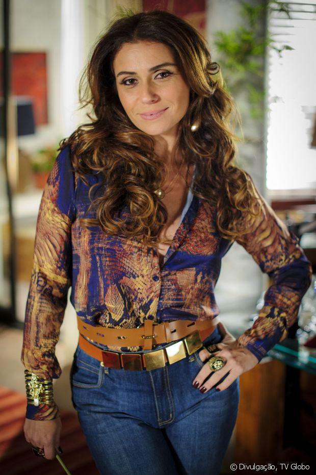 Giovanna Antonelli interpretou a advogada Helô em 'Salve Jorge' (2012) e fez sucesso com os cabelus volumosos e ondas largas