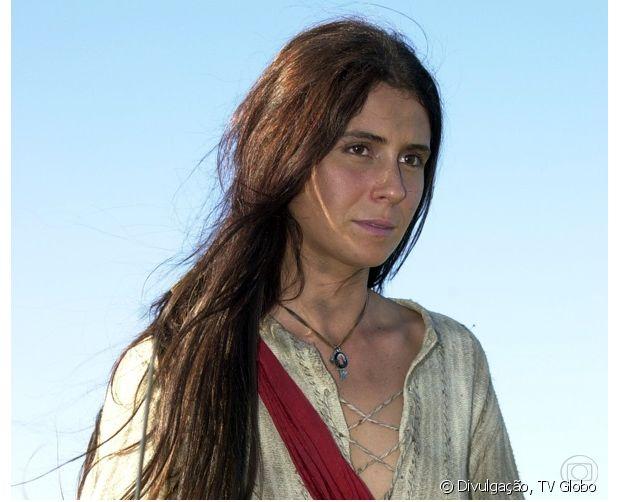 Giovanna Antonelli viveu Anita Garibaldi em 'A Casa das Sete Mulheres' (2003) e exibiu fios longos